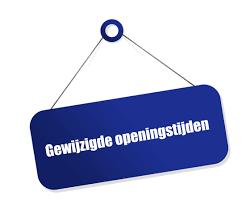 Aangepaste openingstijden bestuursgebouw